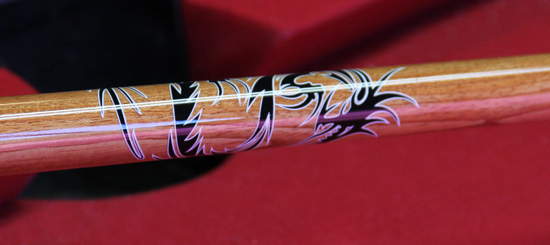 Cue Stick Decal