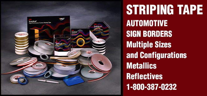 automotive and sign striping tape