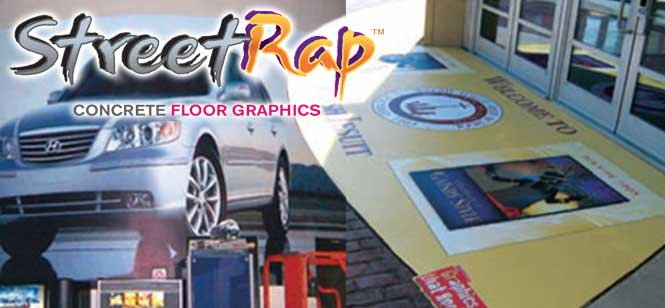 MACtac StreetRap Concrete Floor Graphics